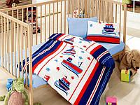 """Детское постельное бельё в кроватку Cotton Box ранфорс """"Denizci"""""""