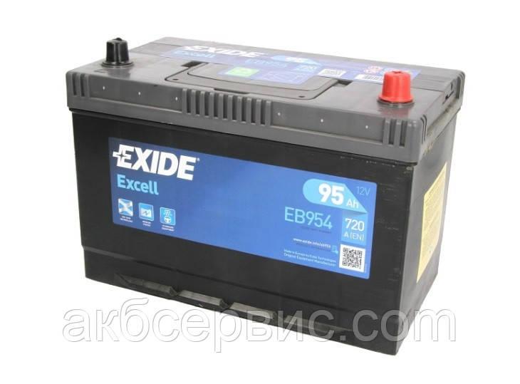 Аккумулятор автомобильный Exide EB954
