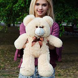 Плюшевые медведи: Плюшевый медвежонок Рафаэль 0,5 метра (50 см), Персиковый
