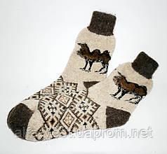 Носки мужские шерстяные вязанные (100% шерсть) - TS03-1
