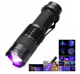 Ультрафиолетовый фонарик 365нм 5W