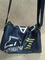 Спортивная сумка из качественного кожзама ARMANI