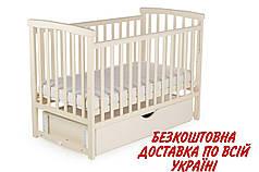 Дитяче ліжко DeSon Mriya з шухлядою та маятником