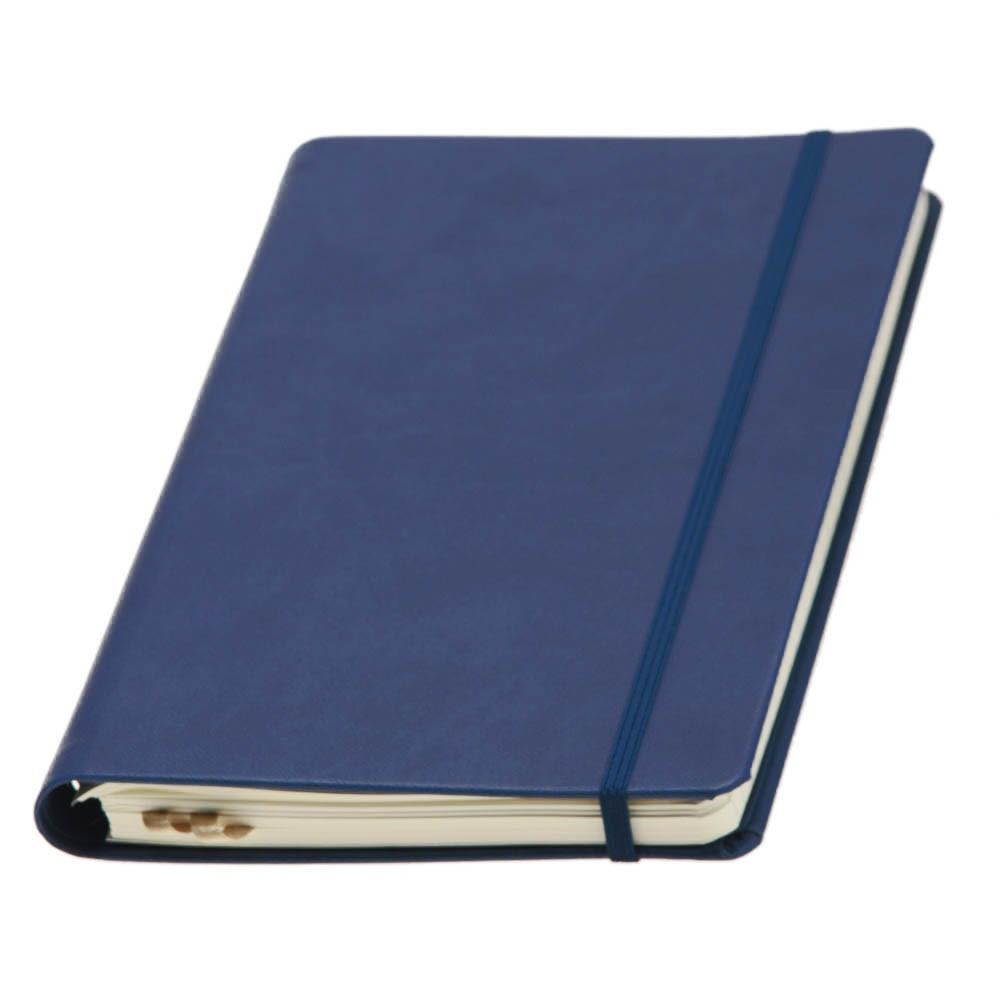 Записная книжка TUKSON RING, А5, кремовый блок в линию. Пр-во Италия. 3 цвета.