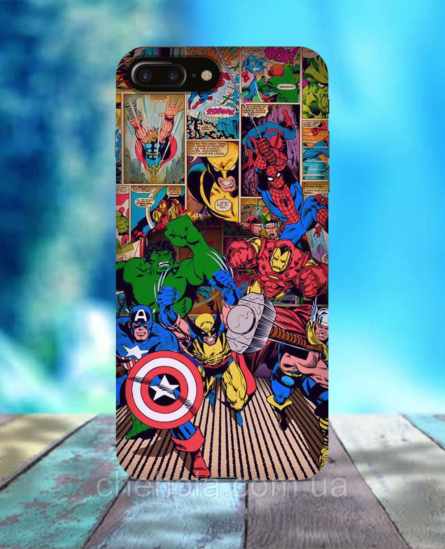 Чехол для iPhone 7 8 7 Plus 8 Plus Мстители