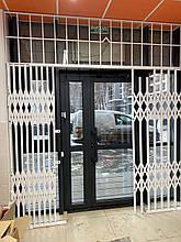 Раздвижные решетки металлические на окна Киев