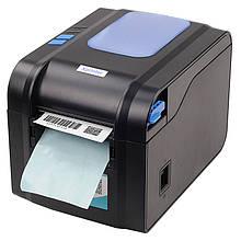 Универсальный принтер этикеток Xprinter XP-370BM сетевой