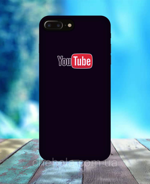 Чохол для iPhone 7 8 7 Plus 8 Plus Youtube чорний