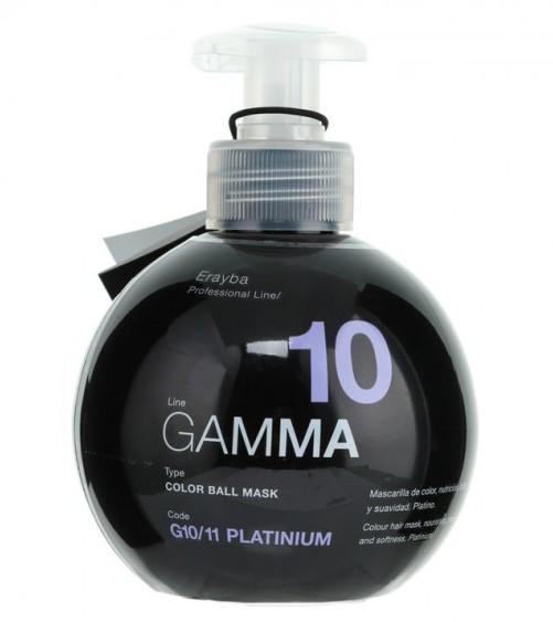 Маска для поддержания цвета волос платиновый Erayba Color Ball Mask G10/11 250 мл