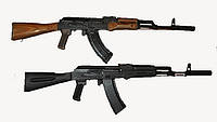 Лазертаг-макет АКМ и АК-74