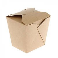 Упаковка для ВОК, крафт, 700 мл, 101x101x106мм, склеенная, 30 шт/уп