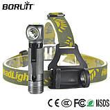 Налобный фонарь Boruit XPL V5 1000LM, 3 Режима (аналог Nitecore HC33) + Panasonic 18650 аккумулятор 3400mAh, фото 5