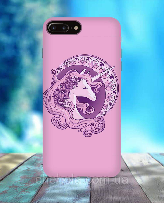 Чехол для iPhone 7 8 7 Plus 8 Plus Единорог