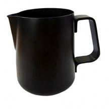 Чорний пітчер Easy на 6 чашок, 0.6 л, з антипригарним покриттям