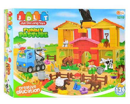 Конструктор для малышей с большимы деталями JDLT 5210