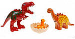 """Конструктор для малышей с большимы деталями JDLT 5069 """"Динозавры"""" 73 детали, фото 3"""