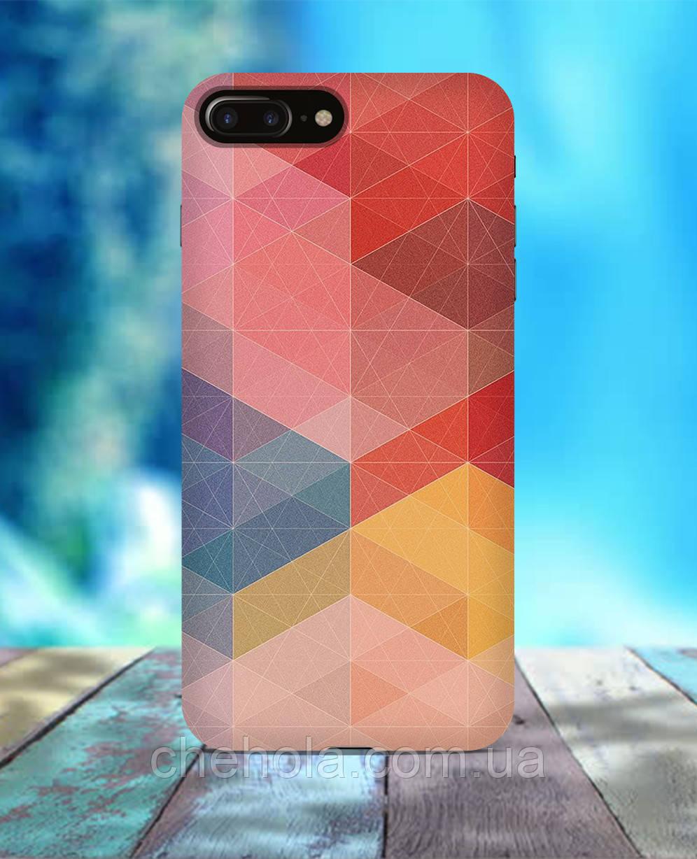 Чехол для iPhone 7 8 7 Plus 8 Plus Геометрические узоры