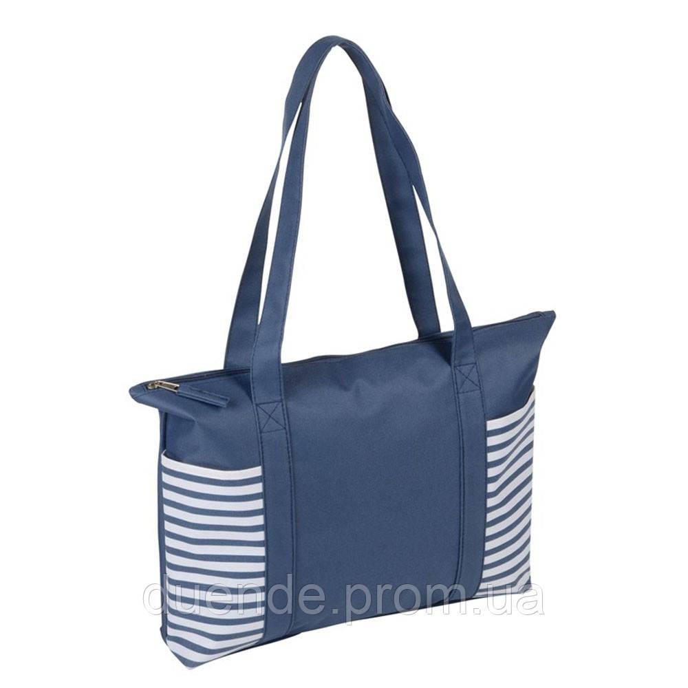Сумка - шоппер для покупок или пляжа Twin, цвет синий / su 908205