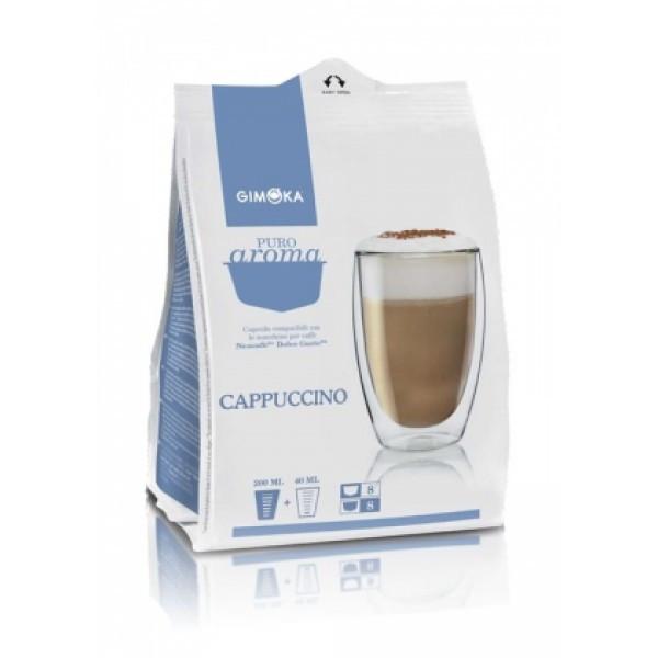Капсулы Dolce Gusto Gimoka Cappuccino, 16 капсул