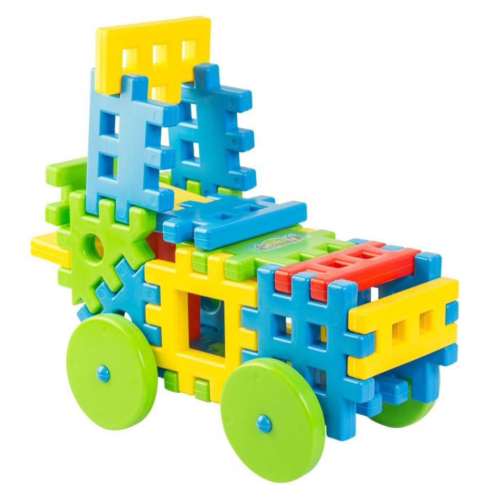 """Игрушка-конструктор для малышей с большимы деталями """"Соеденяйка"""""""