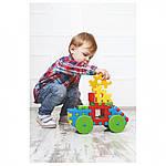 """Игрушка-конструктор для малышей с большимы деталями """"Соеденяйка"""", фото 7"""