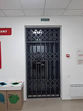 Раздвижные решетки на двери Львов