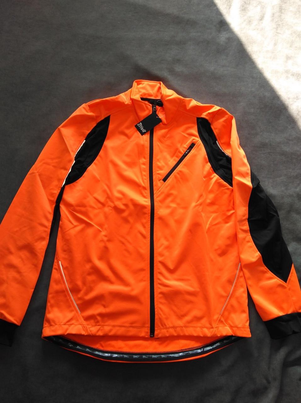 Куртка велосипедная мембранная SoftShell от Crivit