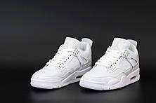 Жіночі кросівки Air Jordan 4 Pure Money (чоловічі Айр Джордан 4 Чисті Гроші) 308497-100, фото 3