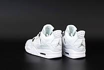 Жіночі кросівки Air Jordan 4 Pure Money (чоловічі Айр Джордан 4 Чисті Гроші) 308497-100, фото 2