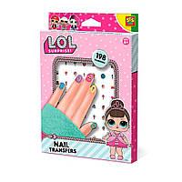 Набор наклеек для ногтей Ses серии L.O.L SURPRISE! - Модный лук (14193S)