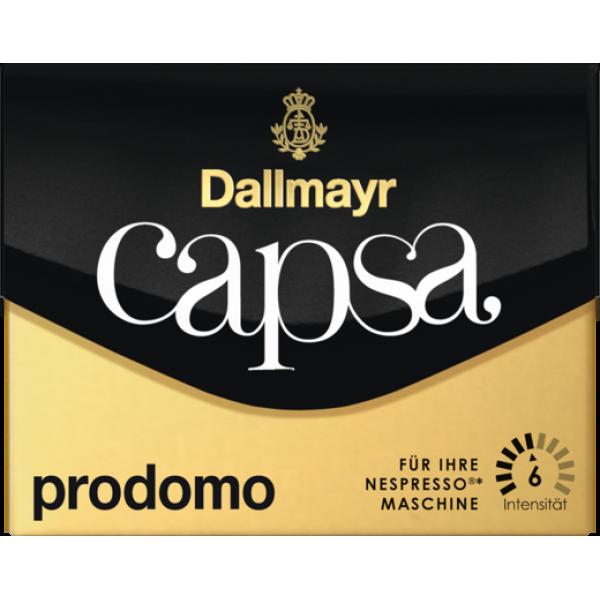 Кофе в капсулах Dallmayr Capsa prodomo, 10 капсул Nespresso