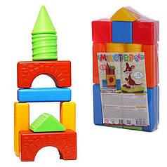Детский конструктор на 15 деталей Colorplast