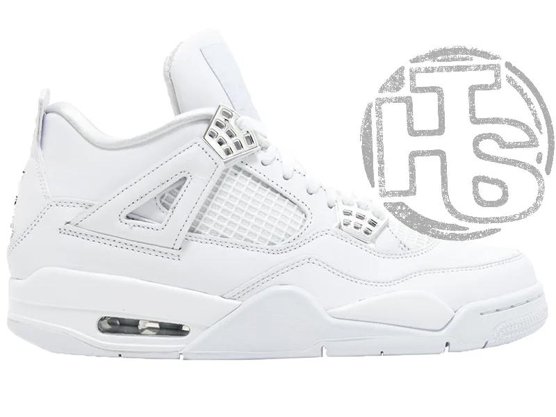 Жіночі кросівки Air Jordan 4 Pure Money (чоловічі Айр Джордан 4 Чисті Гроші) 308497-100