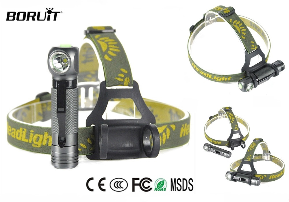 Налобный фонарь Boruit XPL V5 1000LM, 3 Режима (аналог Nitecore HC33) Ліхтар Ліхтарик