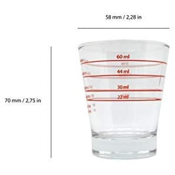 Мерный стаканьчик 22мл, 30мл, 44мл, 60мл