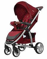 Удобная детская прогулочная коляска CARRELLO Vista   CRL-8505  RUBY RED, фото 1
