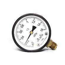 Манометр МТ-3У-М радиальный 1,6 МПа кл. 1,5 М20x1,5