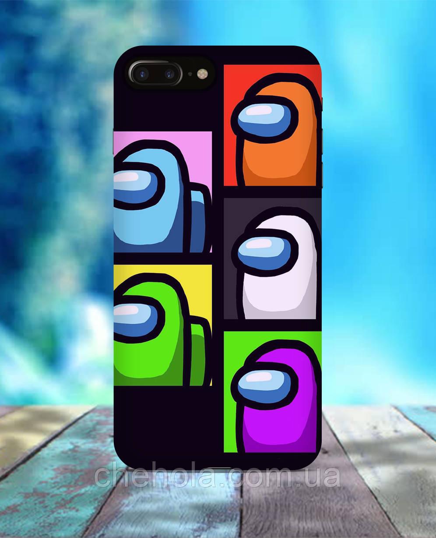 Чехол для iPhone 7 8 7 Plus 8 Plus Amoung Us