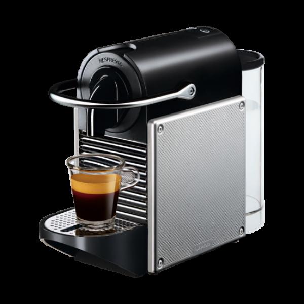 Капсульна кавоварка Pixie Electric Aluminium, Nespresso