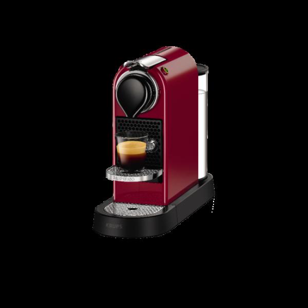 Капсульная кофеварка CitiZ Red, Nespresso