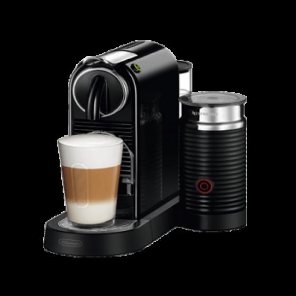 Капсульная кофеварка CitiZ and Milk Black, Nespresso