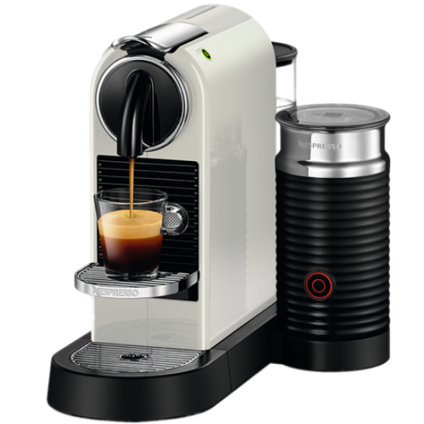 Капсульна кавоварка CitiZ and Milk White, Nespresso
