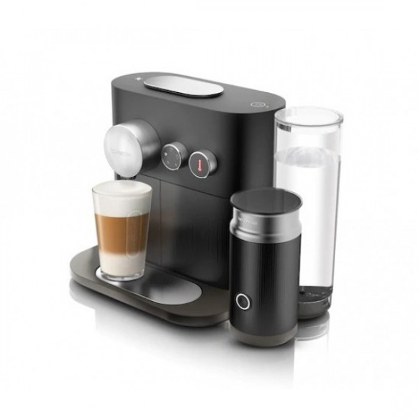 Капсульна кавоварка Expertandmilk Off Black, Nespresso