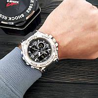 Мужские наручные часы Casio G-Shock GLG-1000 Black-Silver-Black, фото 2