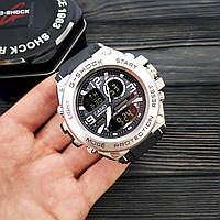 Мужские наручные часы Casio G-Shock GLG-1000 Black-Silver-Black, фото 3