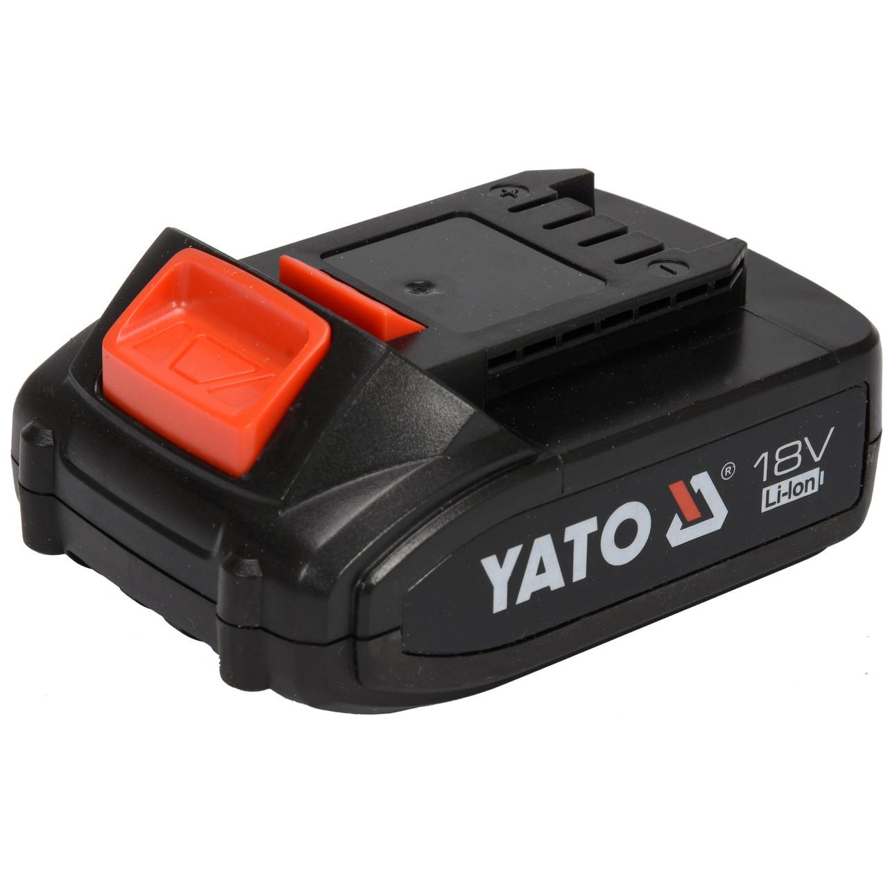Аккумулятор YATO Li-Ion 18 В 2 Ач (YT-82842)