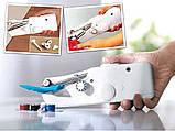 Автономная, компактная, швейная ручная мини-машинка Handy Stitch, фото 3