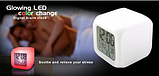 Цифровые светодиодные часы куб с ЖК-дисплеем и будильником, с изменяющимися цветами, для снятия стре, фото 5