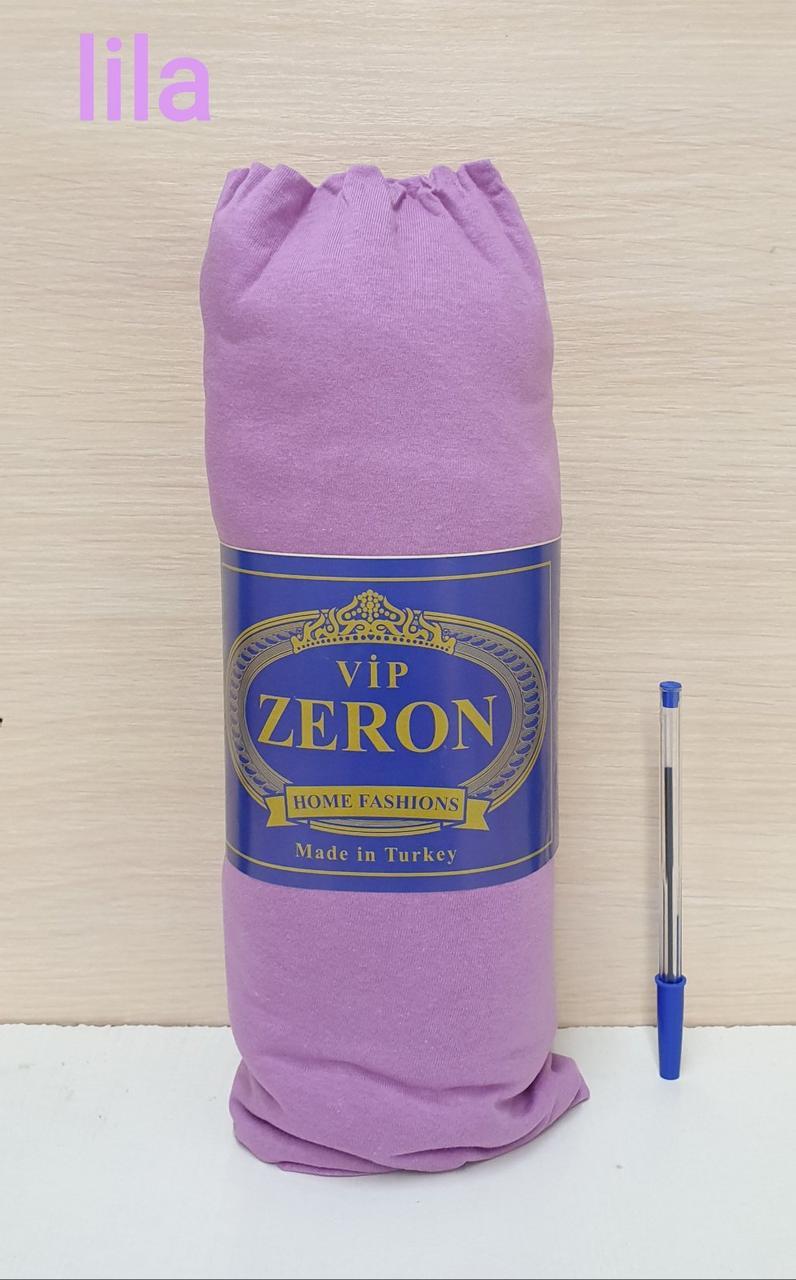 Простынь на резинке трикотажная 180*200 LILA  (TM Zeron), Турция