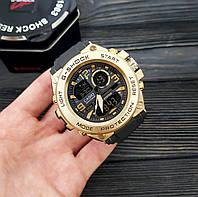 Мужские наручные часы Casio G-Shock GLG-1000 Black-Gold, фото 2